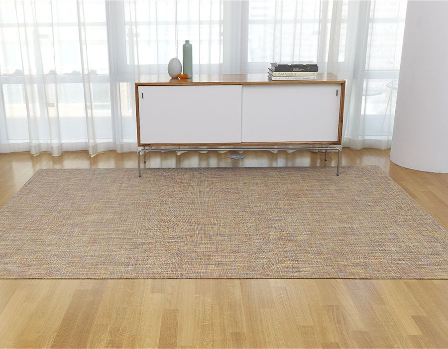 Mini Basketweave Woven Floor Mats
