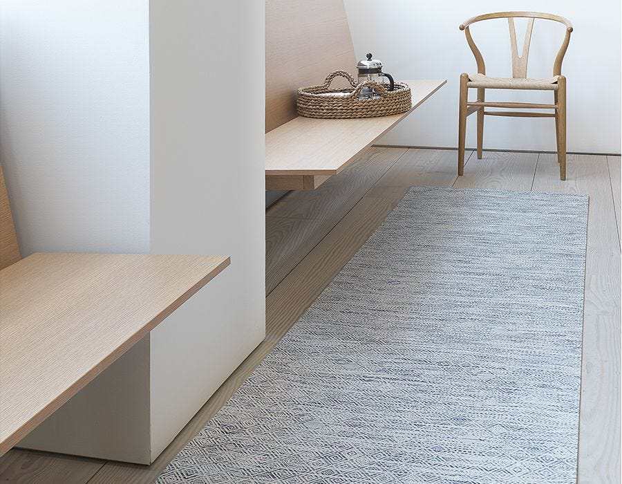 Mosaic Woven Floor Mats Area Rugs